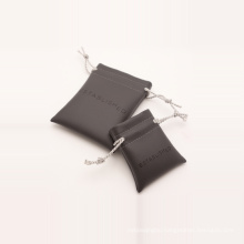 protective leather pouch printed bag