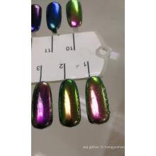 Poudre de caméléon à pigments de couleur pour pigment de peinture automobile