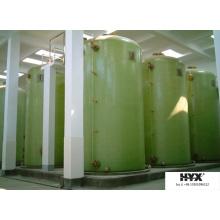 Tanque de fermentación de fibra de vidrio