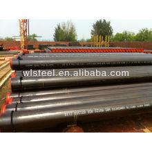 api 5l x52 / x42 / gr.b tubo de acero al carbono soldado sch40