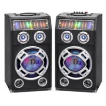 Wireless Double 10 Zoll Professional Tower Lautsprecher mit Bluetooth und bunten Licht