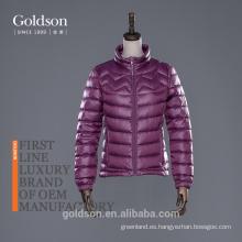 2017 Mujer Abajo chaqueta para el invierno