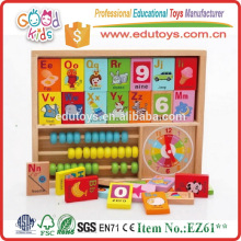 Brinquedos Educativos Building Block Arithmetic Knowledge Objects Abacus Early Development Childhood Learning Children Brinquedos de matemática