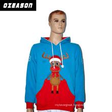 Custom Promotional Sportswear Advertising Printed Christmas Hoodies