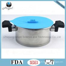 Küche Silikon Spill Stopper Steamer Deckel SL18