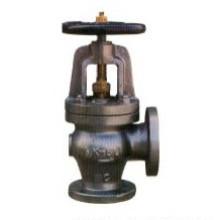 Vanne d'angle en acier moulé marin (RX-MV-RK F7320 10K)