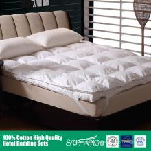 Melhor venda de camadas duplas removíveis de espessura para baixo do colchão para o inverno