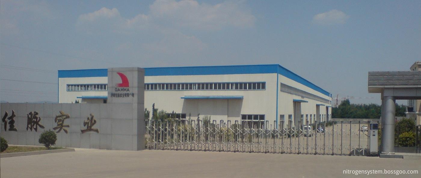 Gamma Nitrogen Generator Factory Gate