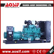 Conjunto de generador diésel fijo Arranque de cuatro carreras Aosif