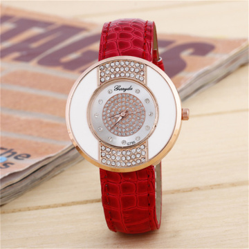 2017 New Leather Watch Luxury Watch