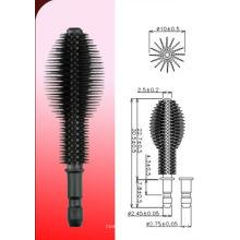 Silicone Fine slender type mascara brush