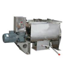 Horizontal ribbon wet dryer liquid powder particle blender machine masala powder breadfruit powder granule plantain flour mixing
