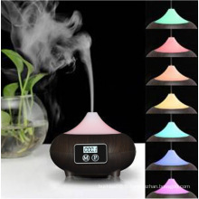 2016 le plus nouveau humidificateur en bois de diffuseur d'arome de bureau avec le logo de marque d'impression