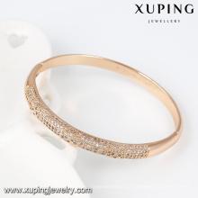 51439- Xuping Fashion New Style Pulseira De Bronze Com Banhado A Ouro
