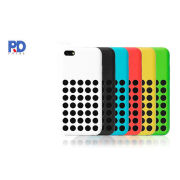 Cell Phone Case For Iphone 5c Silicone Hole Protective Cover