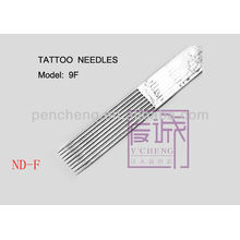 On Bar / Flat Needles & 50 Pack Vorgefertigte Sterile Tattoo Nadeln liefern