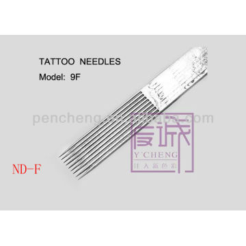On Bar / Flat Needles & 50 Pack Pré-fabricados Sterile Tattoo Needles supply