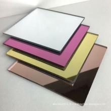 Panneaux ACP de peinture extérieure de miroir