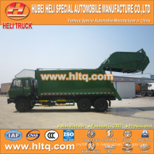 DONGFENG 6x4 16/20 m3 chargement arrière chariot à déchets moteur diesel 210hp avec mécanisme de pressage