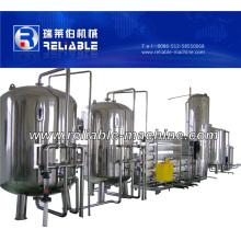 Equipamento automático de tratamento de água do sistema de osmose inversa RO