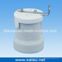 Suporte de lâmpada de porcelana E27F519PW