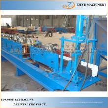 Redonda Downspout tubo de fabricación de la máquina / cañería de lluvia metal downspout frío formando la máquina