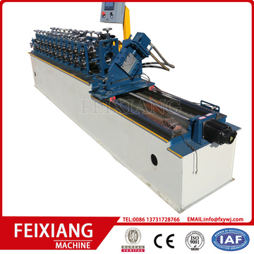 drywall c shaped metal studs making machine