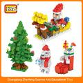 LOZ Miniblock, kleine Plastikblöcke, diy Weihnachtsgeschenk-Reihenziegelspielzeugsatz