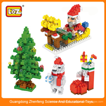 LOZ mini block,small plastic blocks,diy christmas gift series brick toy set