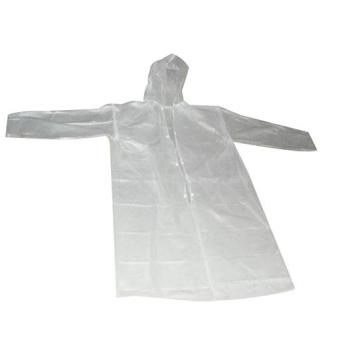 Cheap PE plastic raincoat for promotion