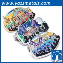 Hard enamel alloy lapel pin Concert souvenir lapel pins