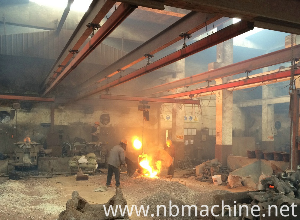 Precision Casting Parts workshop