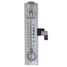 Rotamètre à tube en verre avec interrupteur d'alarme, indicateur de niveau d'huile