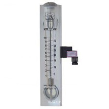 Glass Tube Rotameter with Alarm Switch, Oil Level Indicator