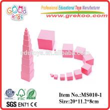 Montessori toys Pink Tower