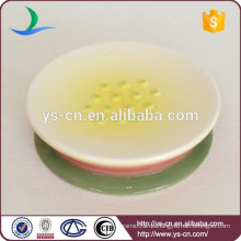 Handgemalte Keramikdusche Seifenhalter