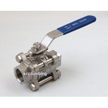 3-PC Socket Weld Ball Valve Thread Ball Valve
