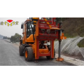 post guardrail memandu machineguardrail post driving machine