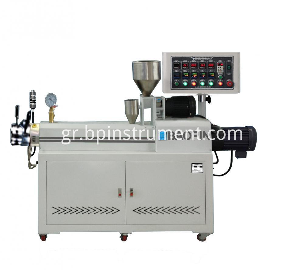 Equipment Double Screw Extruder Plastic