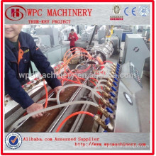 Wood Plastic Composite WPC profile making machine WPC production line for making WPC decking/floor/profiles