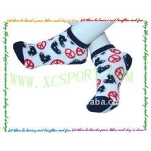 Женские носки из хлопчатобумажной ткани