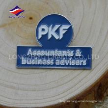 Оптовая уникальная награда деловой металл значок с логотипом