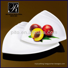 dinner plate set durable strong triangle plate
