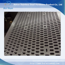 Aluminium Perforated Curve Panel for Curtain Wall