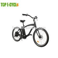 Bicicleta eléctrica de Santa Cruz del estilo retro del crucero de la playa de 1000 vatios