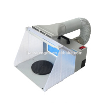 HS-E420DCLK hobby spray booth spraying airbrush extractor