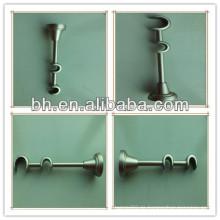 Durable bronze Eisen einzigen Vorhang Stange Halterung