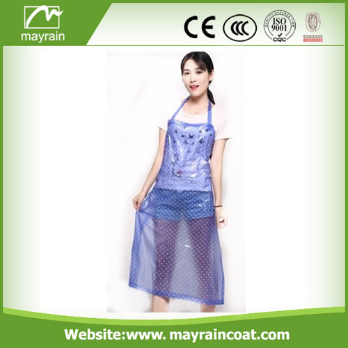 Purple Color PVC Apron