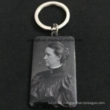Custom Human Image Prinitng Keychain for Souvenir