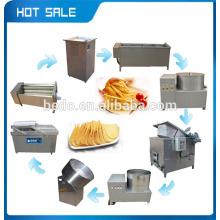 2015 a melhor venda de linha de produção de chips de batata totalmente automática fornecedor com CE 008618137673245